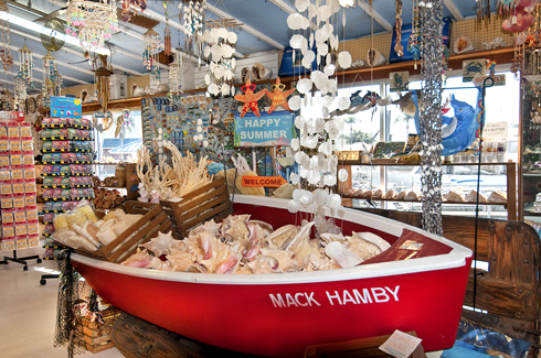 Shell shack gifts souvenirs naples fl for Craft stores naples fl